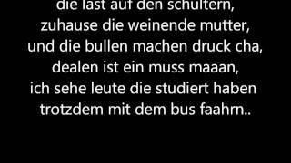 Haftbefehl - Azzlack sterben Jung mit Songtext [Lyrics] on Screen