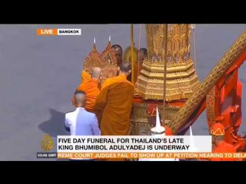 Five Days of Funeral Service Begins in Bangkok - BREAKING NEWS 10/26/17
