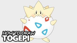 How to Draw Togepi from Pokemon - Easy Step by Step Video Lesson