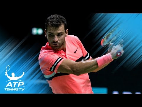 Best shots from Dimitrov and Sugita's brilliant match | Rotterdam 2018