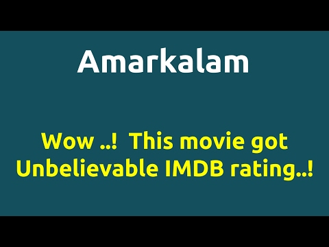 Amarkalam |1999 Movie |IMDB Rating |Review | Complete Report | Story | Cast