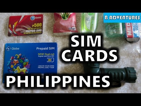 SIM Cards & Phone Setup, Philippines S3, Vlog #3