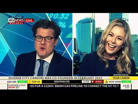 Gemma Lloyd co founder of DCC Jobs on Sky News talking women in the workplace