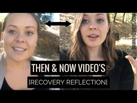 DIET RECOVERY - THEN & NOW LOST VIDEO //Why You're Staying In PSEUDO RECOVERY