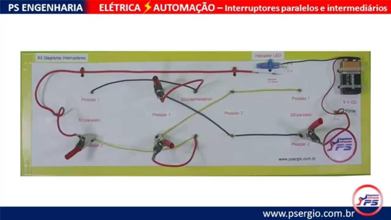 Well-known AUTOMAÇÃO RESIDENCIAL EXPERIMENTAL ELÉTRICA - Interruptores  YD77