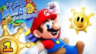 SUPER MARIO SUNSHINE : Episode 1 | Vacances au soleil ! - Let's Play