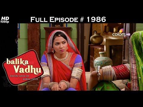 Balika Vadhu - 29th August 2015 - बालिका वधु - Full Episode (HD)