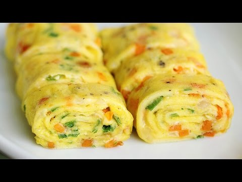 Thumbnail: Perfect Egg Rolls Recipe Tamagoyaki - Eugenie Kitchen