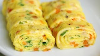 Perfect Egg Rolls Recipe - Tamagoyaki Omelette 계란말이