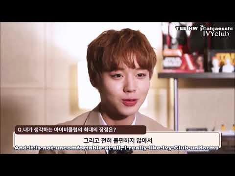 [ENG] Wanna One Park Jihoon - Ivy Club Interview