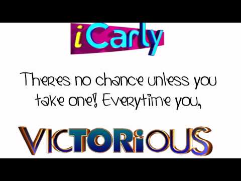 iCarly & Victorious Cast - Leave It All to Shine (Lyrics On Screen) - HD
