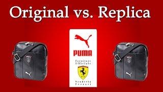 Puma Ferrari Portable Bag Original vs. Replica_Как отличить подделку от оригинала?(, 2016-04-22T05:54:20.000Z)
