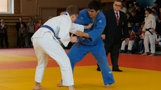 Judo competitions in Russia among young judoists