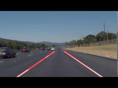 Self-Driving Car Engineer Nanodegree Program - Line Lines Detector Project - Solid White Right