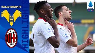 Hellas Verona 0-2 Milan | Krunic e Dalot: magie al Bentegodi | Serie A TIM