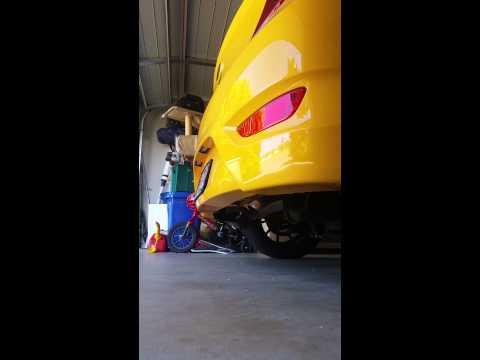 2013 Hyundai Accent Custom Exhaust
