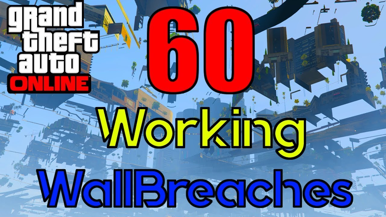 60 Wall Breaches in GTA Online! - 1 46
