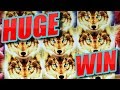 HUGE Bonus Win on GOLDEN WOLVES! 144X My Bet!! *KONAMI Slots*