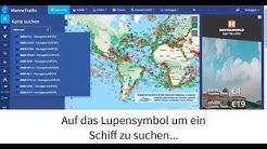 MarineTraffic - Mit dem Schiffsradar Live Schiffe verfolgen