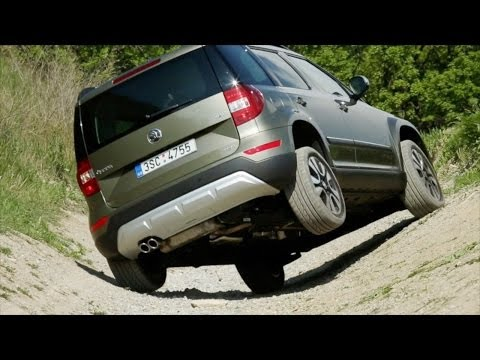► 2014 Škoda Yeti 4x4 - OFFROAD