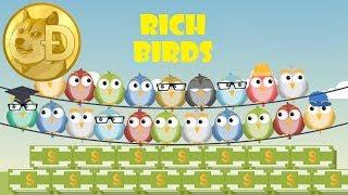 Rich Birds - как заработать на своих яйцах + выплата 160 рублей