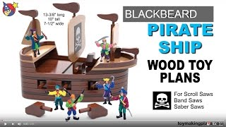 Wood Toy Plans Easy Peasy Pirate Ship