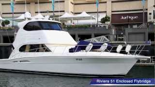Riviera 51 Enclosed Flybridge Luxury Cruiser 'Destiny' For Sale