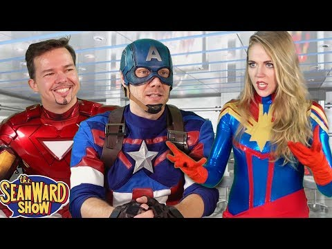 Captain Marvel's Avengers Audition - hilarious parody!! TheSeanWardShow