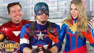 Captain Marvel's Avengers Audition - hilarious par...