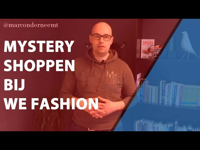 Mystery Shoppen bij We Fashion