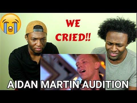 Aidan Martin: INCREDIBLE AUDITION (TEARS!!)| The X Factor UK 2017 |