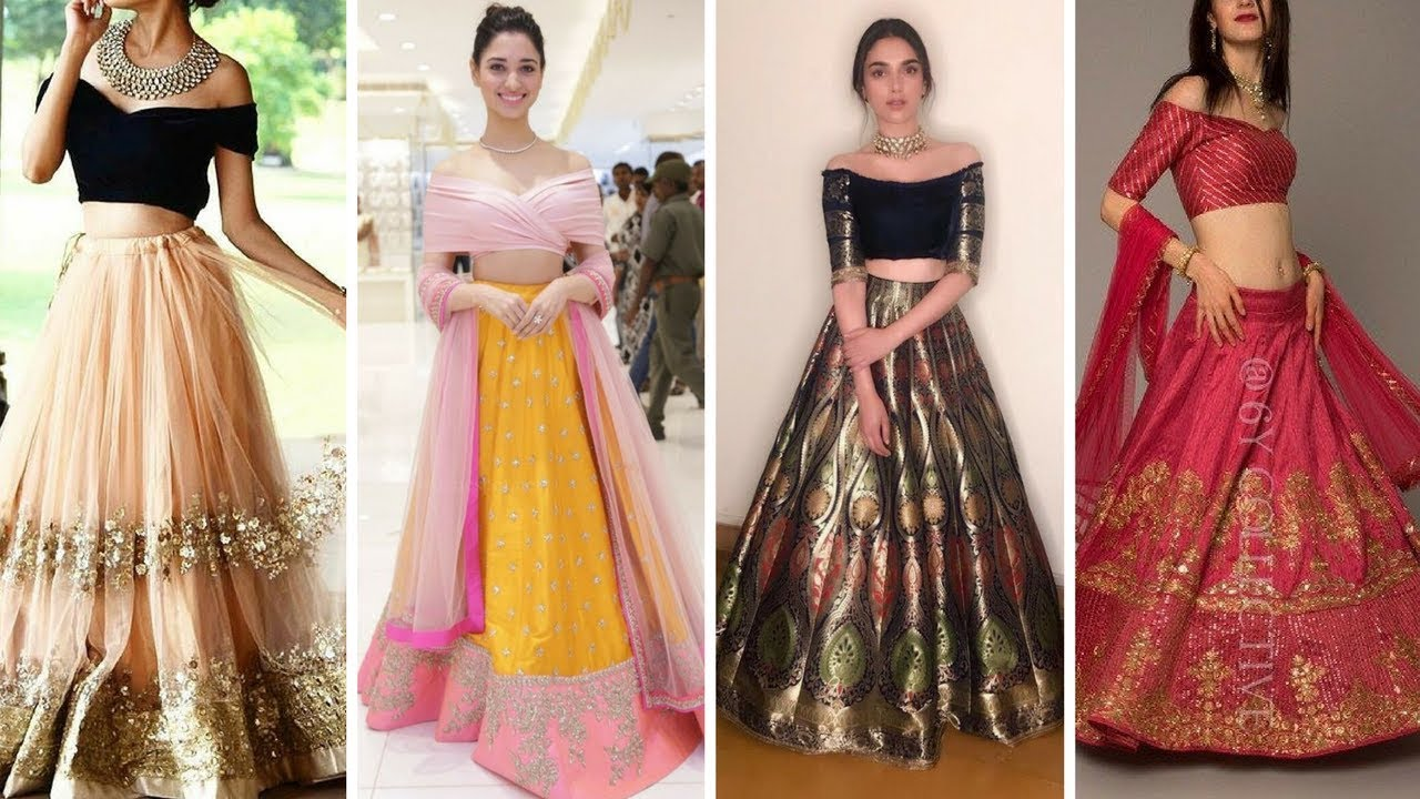 New Modern Lehenga Off Shoulder Blouse Models 2018 Latest Saree Blouse Designs Of For A New Look Discover The Latest Best Selling Shop Women S Shirts High Quality Blouses