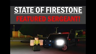 ROBLOX   Firestone SCSO Patrol #7   FEATURED SERGEANT!