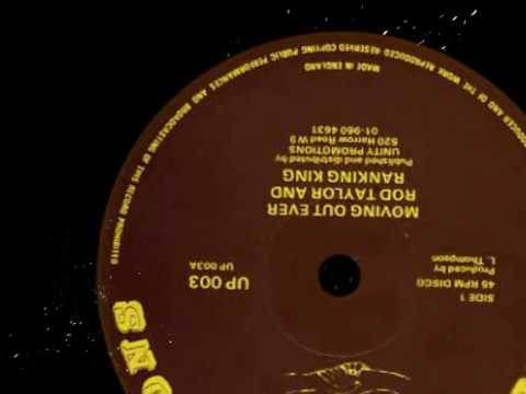 """Rod Taylor & Ranking King - Moving Out Ever 12""""  1981"""