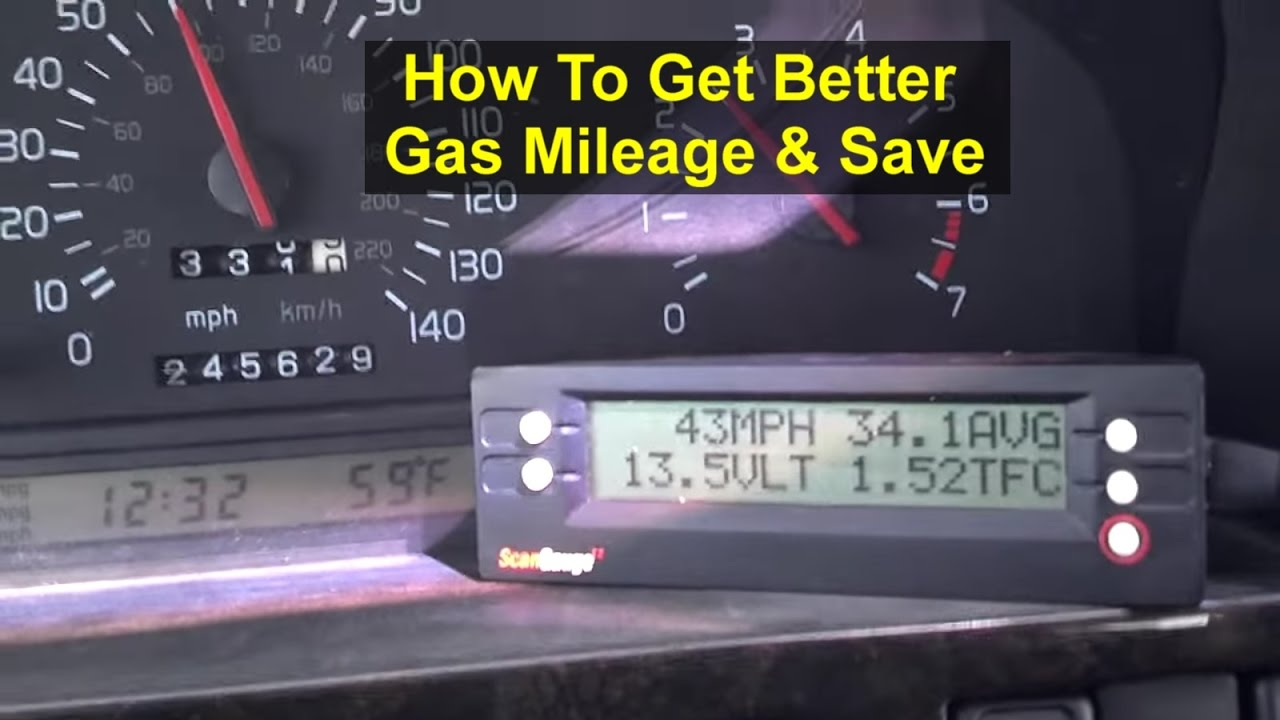 Watch How to Improve Your Gas Mileage and Save Money video