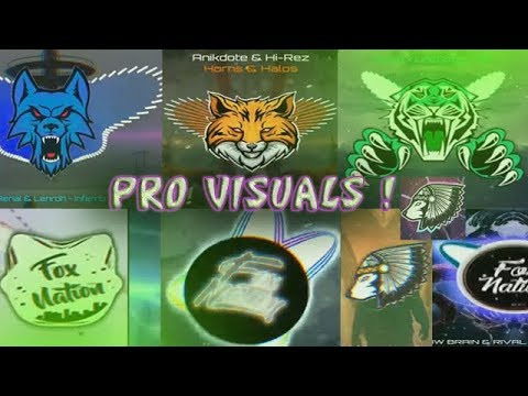 TOP 10 AVEE PLAYER PRO VISUALIZER TEMPLATES BY FOX NATION [EVOLUTION OF MY CHANNEL WITH AVEE PLAYER]