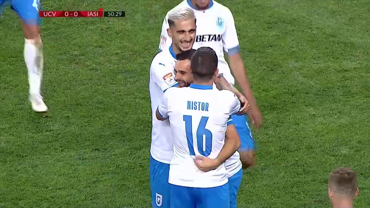 Rezumat: U Craiova - Poli Iasi 1-0! Victorie umbrita de accidentarea lui Koljic