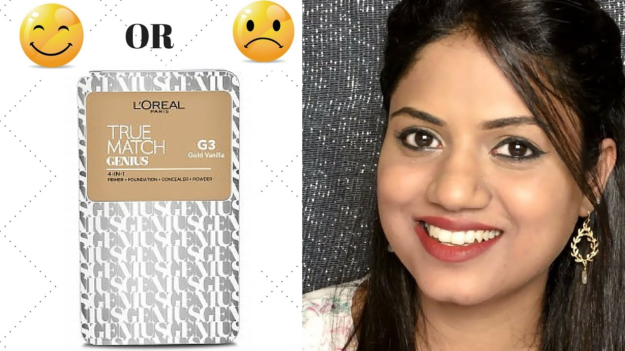 Loreal True Match Genius 4 in 1 Compact Foundation Review