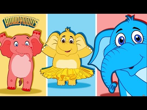 Elephants Have Wrinkles and More!   Nursery Rhymes and Kids Songs Collection by Howdytoons