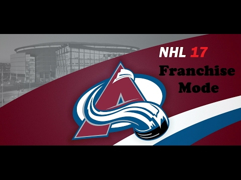 NHL 17 Colorado Avalanche Franchise Mode Ep. 5 We Are A Borderline Playoff Team