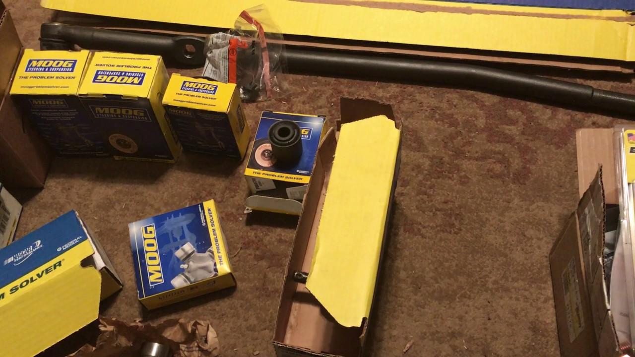 Dodge ram front end rebuild kit and parts