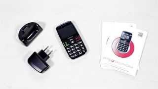 Produktvideo zu Schwerhörigen-Handy Emporia Euphoria