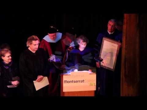 Montserrat College of Art Commencement 2012