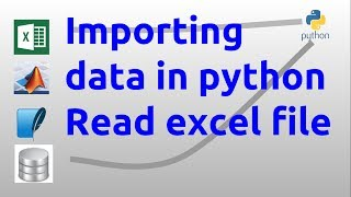 Importing data in python - Read excel file