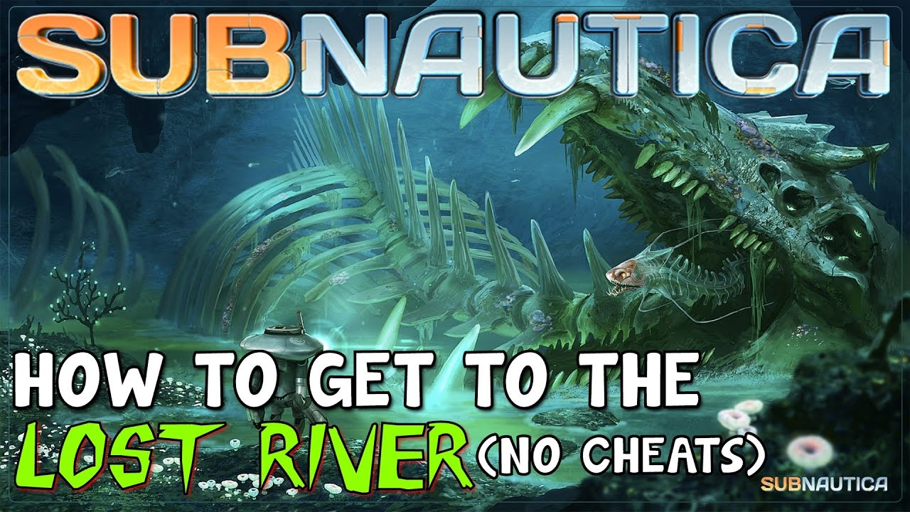 Subnautica Karte.How To Get To The Lost River No Cheats Subnautica Tutorial