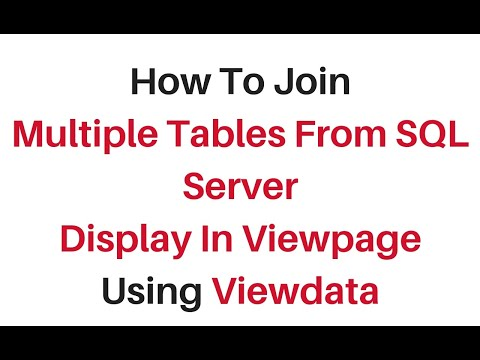Display Viewdata In Cshtml Multiple Tables Join Asp.net C# Mvc