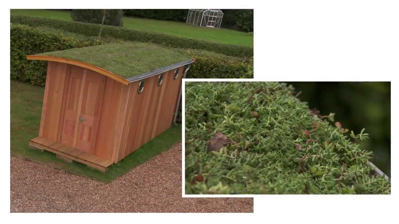 Enviromat How To Install A Green Roof Youtube