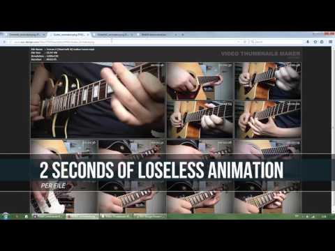 VIDEO THUMBNAILS MAKER: Animated video thumbnail sheets