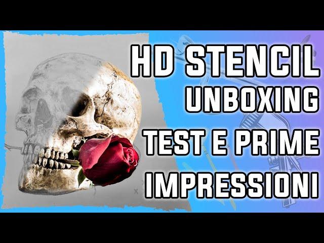 HD-Stencil: Unboxing, test e prime impressioni su questo prodotto unico e particolare
