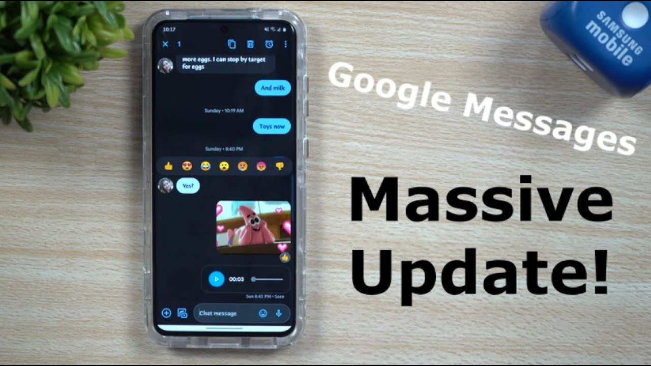 Google Messages - The Update We've Been Waiting For